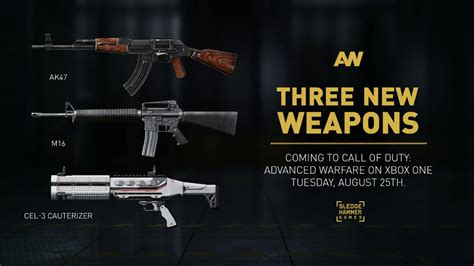 M16, AK47, and Exo Zombies shotgun come to Call of Duty
