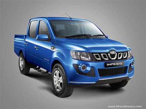 Mahindra Imperio pick-up launched in India - from Rs
