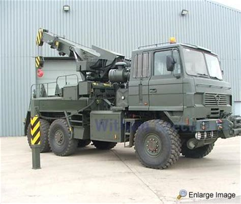 Foden, 6x6 Recovery Vehicle, #28632 - MOD Sales, Military
