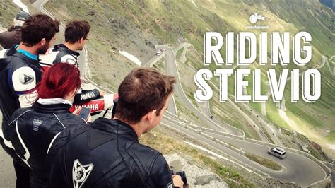 Riding Stelvio (Top Gear's greatest driving road in the