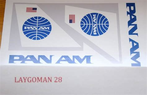 Pan Am Livery for LEGO™ 3182 3181 60022 — Home