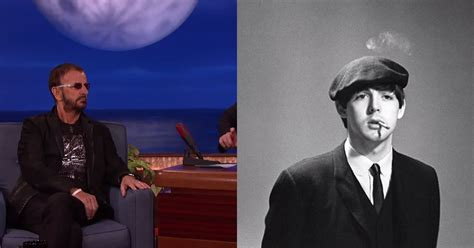 Ringo Starr Talks to Conan About His Photos During the