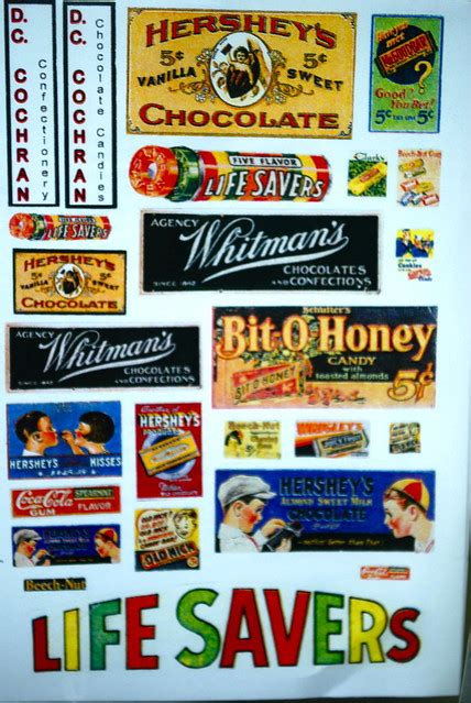 Old School Candy Wrappers   Flickr - Photo Sharing!