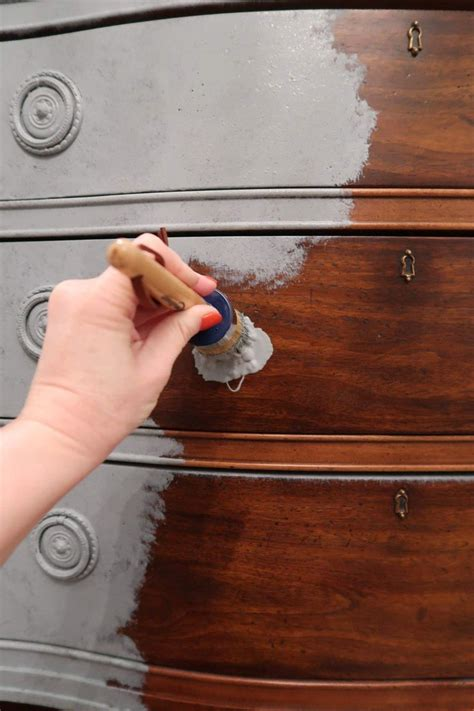 Yes! You Can Use Chalk Paint Over Stain | Chalk paint