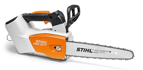 MSA 161 T - Handy cordless chainsaw for professional tree