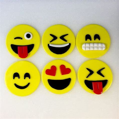 Emoji Inspired Toppers Cupcake Toppers by