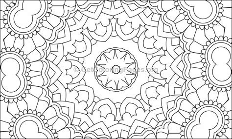 Mosaic Pattern Coloring Pages #5 – GetColoringPages