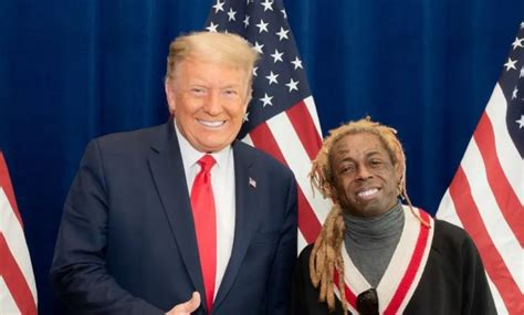 50 Cent jokes about Lil Wayne's Gun Charge and Trump