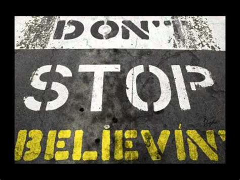 Journey - Don't stop believin' - Backing track with vocals