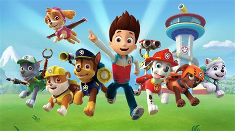 Paw Patrol, Peppa Pig, and when films for kids aren't