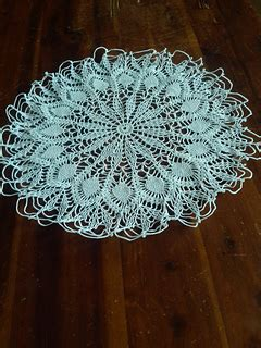 Ravelry: Easy Pineapple Doily pattern by American Thread