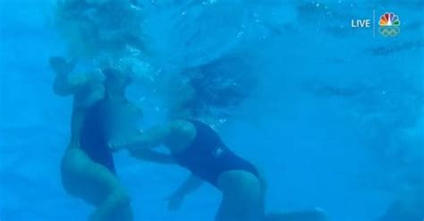 NBC shows nudity with underwater camera in women's water