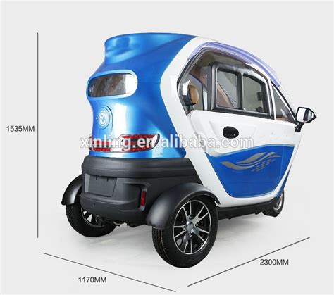 Cabin Mobility Scooter; Fully Enclosed Mobility Scooter