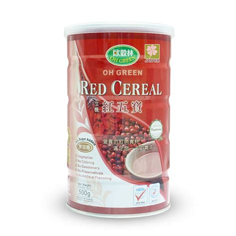 Oh Green Red Cereal