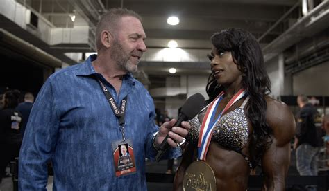 2019 Olympia Women's Physique Winner Shanique Grant After