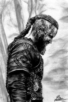 How to Draw Ragnar Lothbrok from Vikings, Step by Step