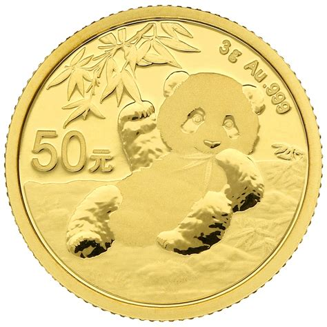 2020 3g Gold Chinese Panda Coin   BullionByPost - From £197
