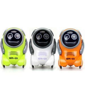 Silverlit Pokibot Interactive Mini Robot SR-01 From 3-Pack