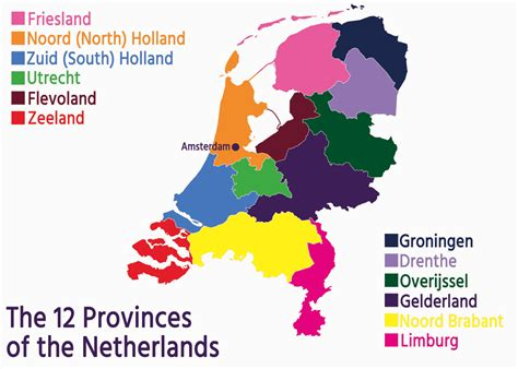 Your Guide to the 12 Provinces of the Netherlands