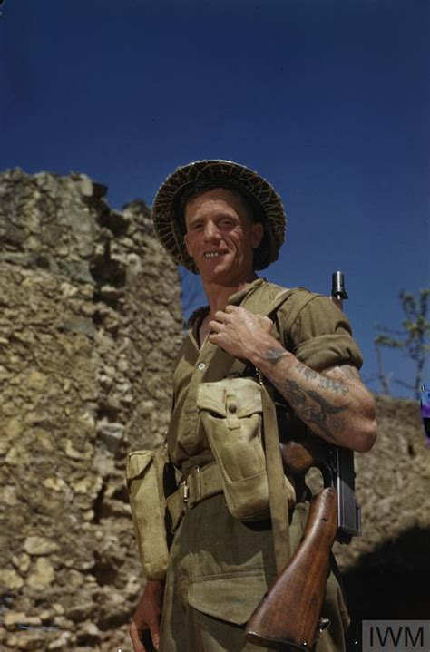 THE BRITISH ARMY IN ITALY APRIL 1944 (TR 1708)