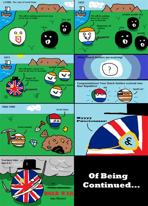 A History of South Africa Part 1: The Colonials : polandball