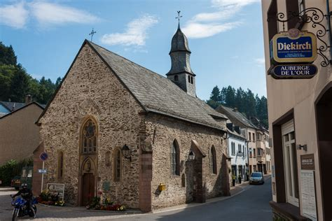 I Picked The Wrong Day To Visit Vianden, Luxembourg