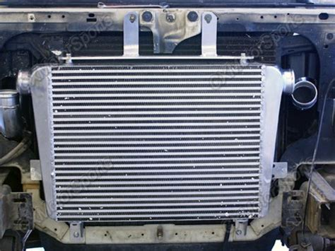 Intercooler Kit + piping kit For 94-97 Ford F250 F350
