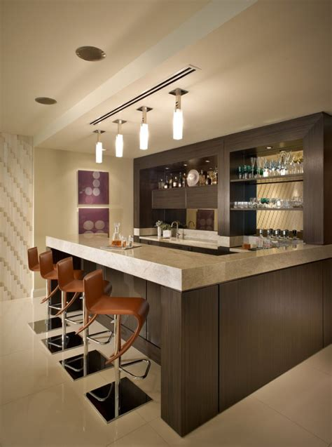 16 Amazing Contemporary Home Bars For The Best Parties