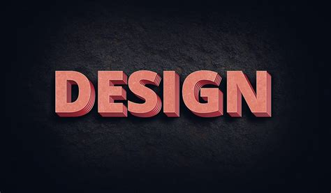Free 3D Text Effect Generator for Photoshop - 3D Photoshop