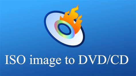 Windows 10/8 ~ How to burn ISO image to cd/dvd ~ - YouTube