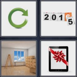 4 pics 1 word 3 letters ANSWERS!! (^_^) Easy search