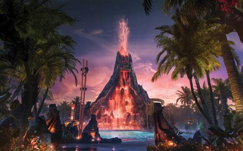 The new Volcano Bay theme park will have terrifying drops