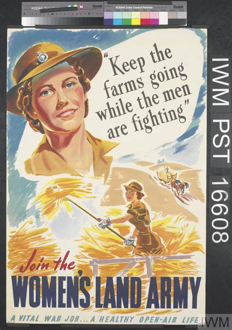 Join the Women's Land Army (Art