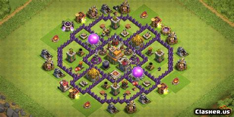 [Town Hall 7] TH7 Base multi purpose [With Link] [7-2019