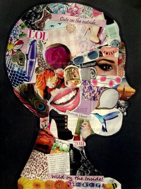 """""""Mind over matter"""" Art Journaling (With images)   Collage"""