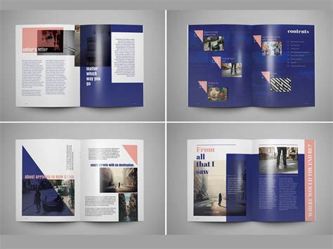 Adrift - Magazine Template by Templates on Dribbble