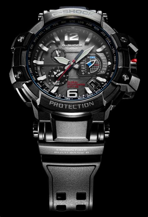 Casio G-Shock GPW1000 Is First Watch To Combine GPS