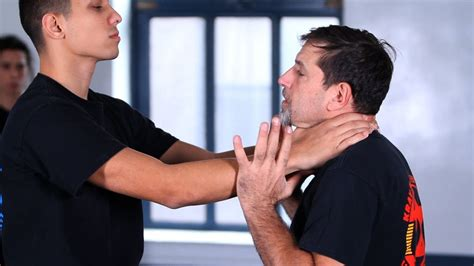 How to Defend against a Front Choke | Krav Maga Defense