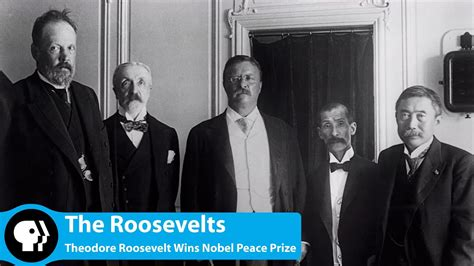 Theodore Roosevelt Wins Nobel Peace Prize - YouTube
