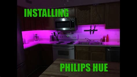 INSTALLING THE PHILIPS HUE - YouTube