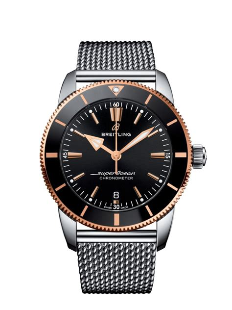 Superocean Heritage B20 Automatic 44 Steel & 18k red gold