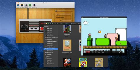 Emulating SNES, NES and N64 Games In Mac OS X