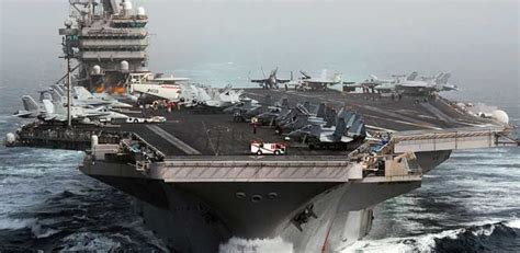 ford class aircraft carrier vs nimitz - Google Search