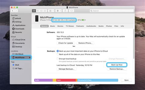 Mac: How to backup your iPhone in macOS Catalina - 9to5Mac