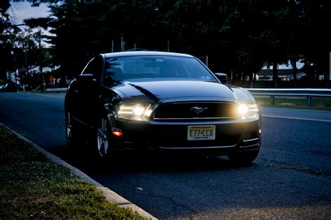 2013 V6 Night Photoshoot - The Mustang Source - Ford