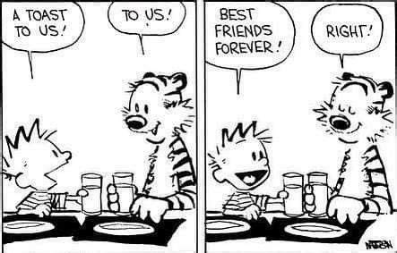 Happy birthday, Calvin and Hobbes! Thank you for teaching