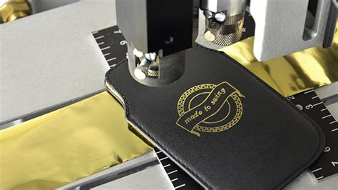 Laser cutting and engraving on leather and imitation
