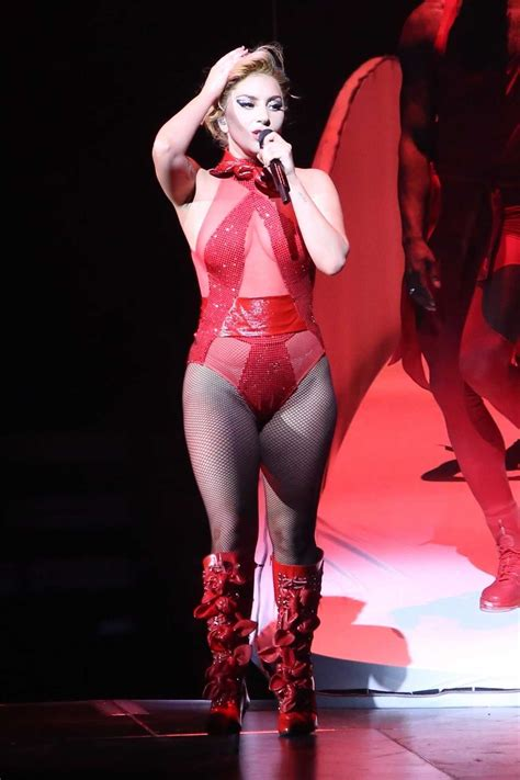 Lady Gaga Performs During Joanne World Tour at Rogers