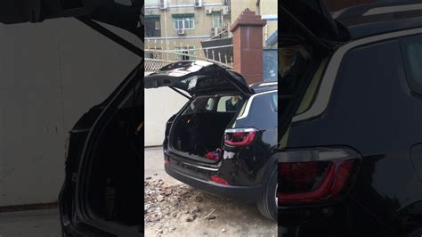 Power liftgate for new Jeep Compass aftermarket - YouTube