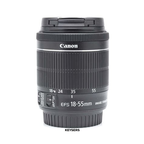 USED: Canon EF-S 18-55mm f3
